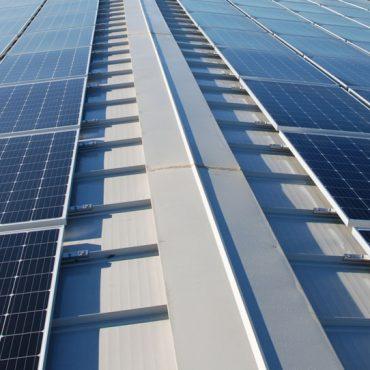 copertura metallica con fotovoltaico